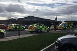 هجوم خودرو به میان جمعیت در منچستر