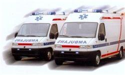 واژگونی آمبولانس در فیروزکوه