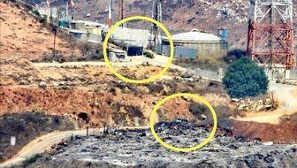 رسوایی جدید ارتش اسرائیل در مرز لبنان + تصاویر
