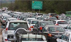 حجم بالای تردد در تمام جادهها