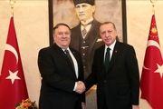 نائورت: مایک پمپئو و اردوغان درباره سوریه با یکدیگر رایزنی کردند