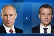 گفتوگو رئیس جمهور روسیه با همتای فرانسوی خود