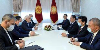 رئیس جمهور قرقیزستان با ظریف دیدار کرد