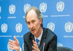 نماینده جدید سازمان ملل در امور سوریه آغاز به کار کرد