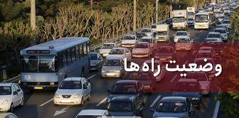 ترافیک سنگین در محور هراز و آزادراه قزوین_کرج