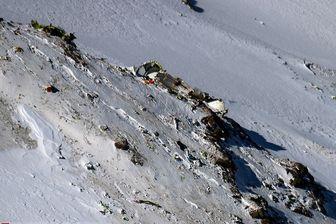 ادامه تلاش ها برای یافتن پیکر کشته شدگان حوادث سقوط هواپیما