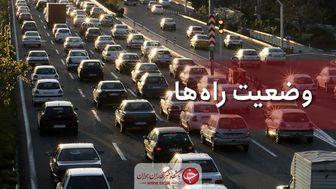 آخرین وضعیت جوی و ترافیکی جادههای کشور در ۱۴ شهریور ماه
