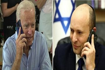 گفتگوی تلفنی جو بایدن و «بنت» درباره مسائل امنیتی و ایران