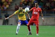 ادعای بازیکن فولاد: 2 پنالتی ما مقابل سپاهان گرفته نشد