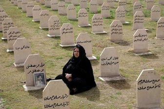 صدها کُرد عراقی روز شنبه در شهر حلبچه گرد هم در آمدند