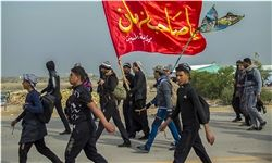 خدمات رسانی ارتش به زائران حسینی