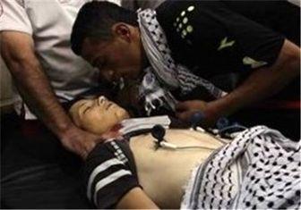 یک نوجوان فلسطینی به شهادت رسید