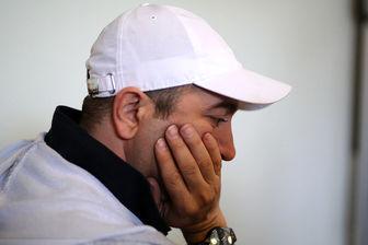 تیپ مجید صالحی در مراسم ختم کارگردان تازه درگذشته/ عکس