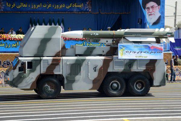 موشک ایرانی سوم خرداد