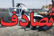 تصادف خونین در اتوبان تهران_قم