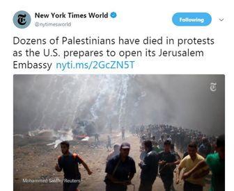 دشمنی نیویورک تایمز با مردم فلسطین عیان شد