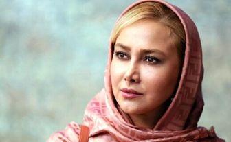 حضور خانم بازیگر کم کار در یک مراسم سینمایی/ عکس