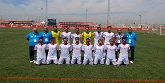 پیروزی ملیپوشان ایران مقابل ایرلند در جام جهانی فوتبال ۷ نفره
