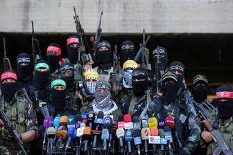تیراندازی مقاومت فلسطین به سمت پهپاد رژیم صهیونیستی