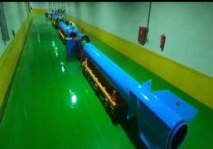 نخستین تصاویر از محرمانهترین کارخانه زیرزمینی تولید موشکهای بالستیک در ایران/ فیلم