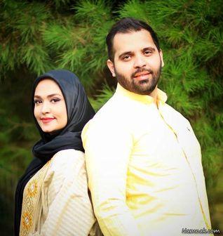 فریبا باقری با پالتوی زمستانی اش/عکس
