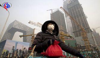 افزایش آلودگی هوا در جنوب چین