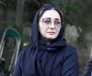 چهره بی حال و حوصله هانیه توسلی /عکس