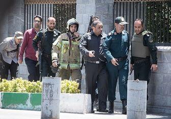 اولین سالگرد شهدای حادثه تروریستی مجلس برگزار شد