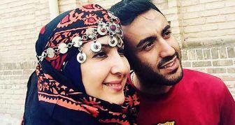فاطمه گودرزی و پسرش در دل طبیعت /عکس