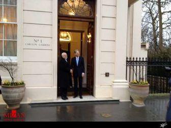 آغاز دیدار ظریف و هاموند وزیران خارجه ایران و انگلیس