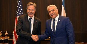 دیدار وزیر خارجه رژیم صهیونیستی با بلینکن درباره ایران و سفر به ابوظبی