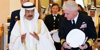 فرمانده ناوگان پنجم نیروی دریایی آمریکا با نخستوزیر بحرین دیدار کرد