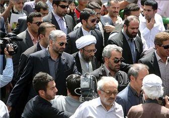 رئیس قوه قضائیه به خیل راهپیمایان ۲۲ بهمن پیوست