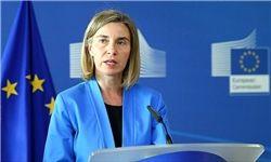 موگرینی: باید در سوریه انتقال سیاسی صورت بگیرد