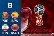 اسپانیا و پرتغال به مصاف تونس میروند