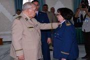 اتفاقی نادر در جهان عرب؛ زنی که سرلشکر شد!