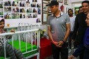 فوتبال گل محمدی با دختران کم توان ذهنی