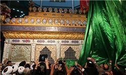رونمایی ضریح جدید حضرت مسلم بن عقیل(ع)