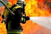 آتش سوزی در انبار کفش در خیابان ظهیرالاسلام