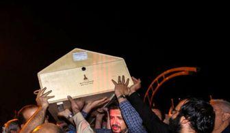 پیکر ابراهیم یزدی به تهران منتقل شد+ تصاویر