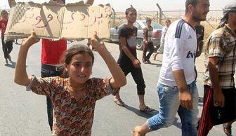 داعش دختر ایزدی را ۳۱ دلار فروخت