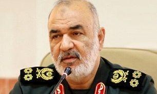 سرلشکر سلامی: سپاه آماده همکاری همه جانبه با قوه قضائیه در برخورد با مجرمان است