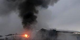 انفجار در انبار مهمات نیروهای وابسته به دولت منصور هادی