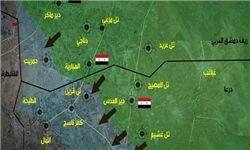 عملیات همزمان ارتش سوریه در ریفهای دمشق و درعا