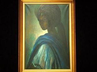 نمایش تابلوی «مونالیزا» ی نیجریه پس از 40 سال مفقودی!
