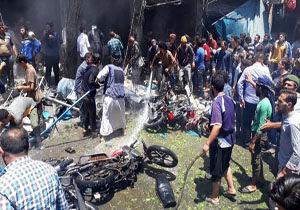 انفجار موتور سیکلت بمبگذاری شده در سوریه