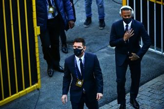 لیونل مسی و نیمار در کنار هم در پاری سن ژرمن عکس