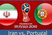پوستری کنایه آمیز و جذاب از بازی ایران و پرتغال+عکس