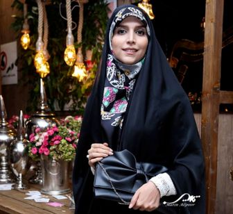خارج گردی های خانم مجری با حجابی مثال زدنی/ عکس