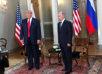حاشیه در کنفرانس مطبوعاتی پوتین و ترامپ